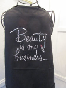 beauty business apron