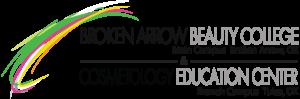broken arrow beauty college logo