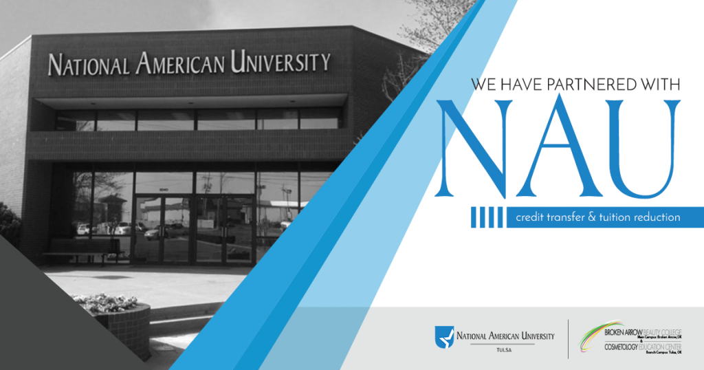 National American University opportunity with Broken Arrow Beauty College