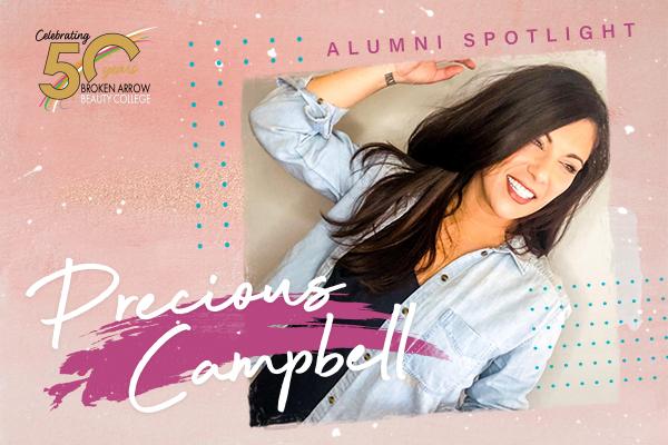 Broken Arrow Beauty College Alumni Precious Campbell